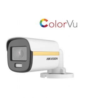 Camera HDTVI ColorVu 2MP HIKVISION DS-2CE10DF3T-PF
