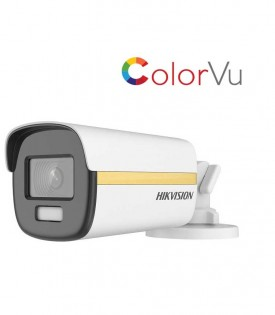 Camera HDTVI ColorVu 2MP HIKVISION DS-2CE12DF3T-FS