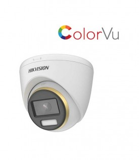 Camera HDTVI ColorVu 2MP HIKVISION DS-2CE72DF3T-F
