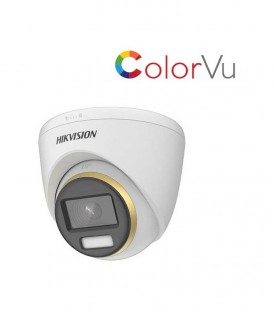 Camera HDTVI ColorVu 2MP HIKVISION DS-2CE72DF3T-FS