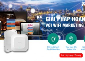 Marketing hiệu quả với giải pháp wifi marketing Ruijie